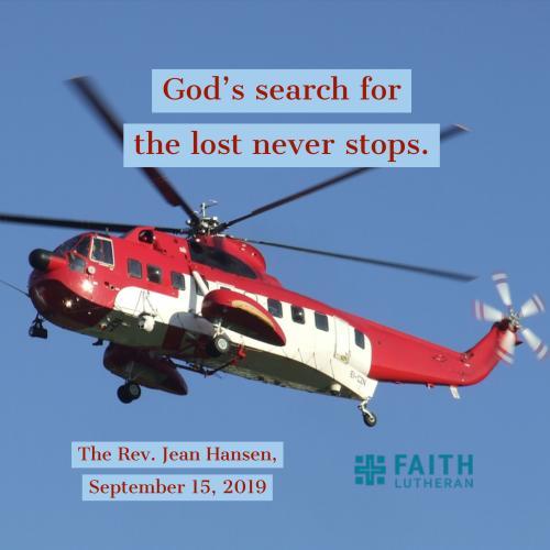 sermon, rescue, Faith Lutheran Church,